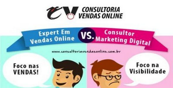 CVO - Diferenca entre expert em vendas online e consultor de marketing digital
